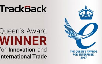 TrackBack wins two prestigious Queen's Awards for Innovation and International Trade