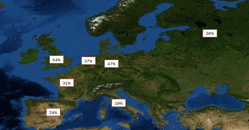 Trackback Map August 2013