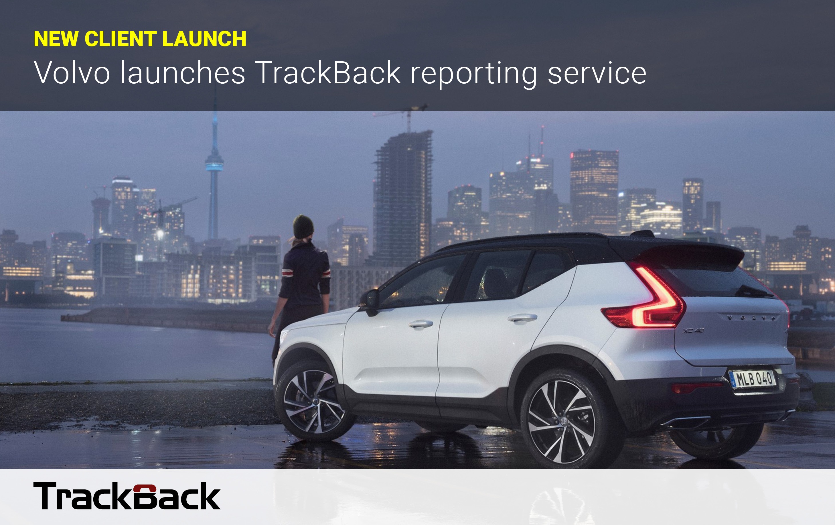 Volvo TrackBack launch