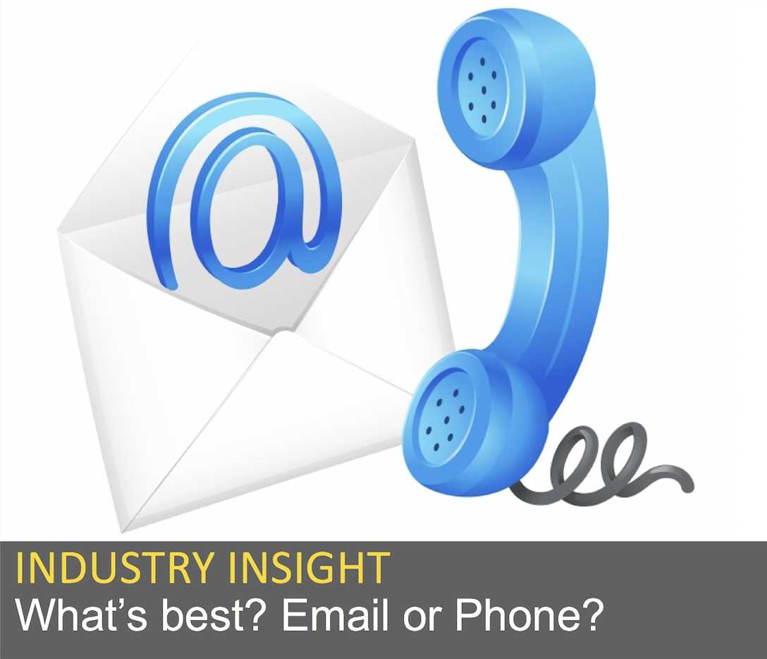 What's best? Email or Phone?
