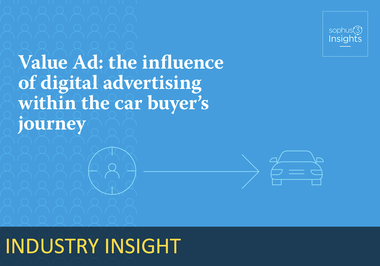 The influence of advertising within the car buyer's journey