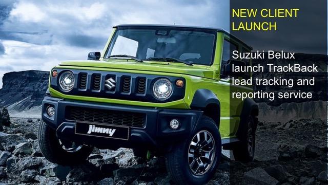 Suzuki Belux launches TrackBack