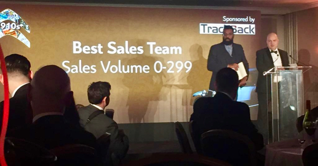 TrackBack sponsors Citroën Best Sales Team Award
