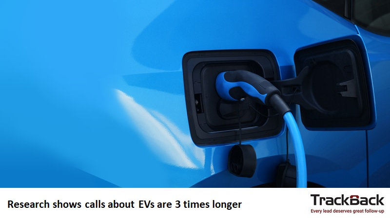 Research shows calls about EVs are 3 times longer